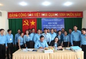Hội nghị cán bộ, công chức, viên chức và người lao động năm 2016