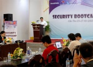 Sự kiện An toàn thông tin Sercurity Bootcamp năm 2013