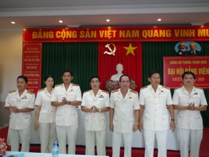 Đại hội Đảng bộ Phòng Tham mưu nhiệm kỳ 2015 – 2020